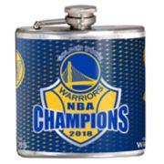 Golden State Warriors 2018 NBA Finals Champions Hip Flask