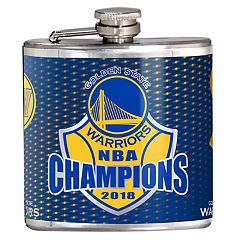 Golden State Warriors 2018 NBA Finals Champions Hip Flask
