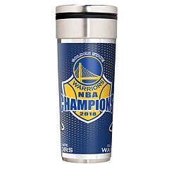 Golden State Warriors 2018 NBA Finals Champions Travel Tumbler