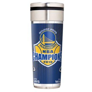 Golden State Warriors 2018 NBA Finals Champions Travel Tumbler