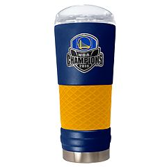 Golden State Warriors 2018 NBA Finals Champions Etched Tumbler