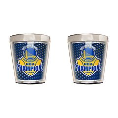 Golden State Warriors 2018 NBA Finals Champions Shot Glass Set