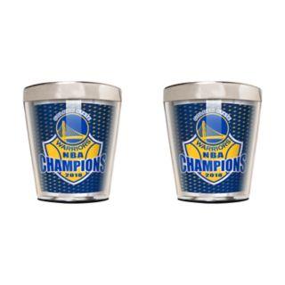 Golden State Warriors 2018 NBA Finals Champions Shot Glass Set
