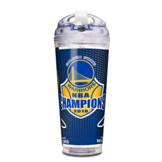Golden State Warriors 2018 NBA Finals Champions 24-Ounce Acrylic Tumbler
