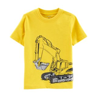 Toddler Boy Carter's Construction Truck Digger Graphic Tee