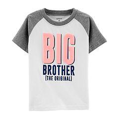 Toddler Boy Carter's 'Big Brother The Original' Raglan Graphic Tee