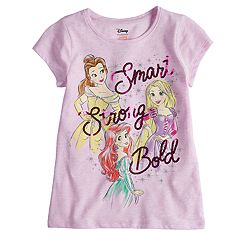 Disney Princess Girls 4-10 Belle, Rapunzel & Ariel 'Smart Strong Bold' Sequin Graphic Tee by Disney/Jumping Beans®