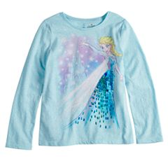 Disney's Frozen Elsa Girls 4-10 Sequin Graphic Tee by Disney/Jumping Beans®