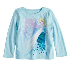 Disney's Frozen Elsa Toddler Girl Sequin Graphic Tee by Disney/Jumping Beans®