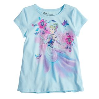 "Disney's Cinderella Toddler Girl ""Stay True"" Glitter Graphic by Disney/Jumping Beans®"