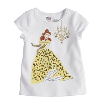 Disney's Belle Toddler Girl Sequin Graphic Tee by Disney/Jumping Beans®