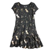 Disney's Beauty & The Beast Girls 4-7 Princess Seam Ruffle Dress by Disney/Jumping Beans®