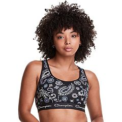 Champion Bras: Authentic Print Racerback Medium-Impact Sports Bra B1429P