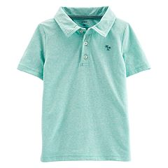 Toddler Boy Carter's Embroidered Palm Tree Polo