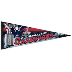 Washington Capitals 2018 Stanley Cup Champions Pennant