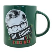 "A Christmas Story ""Oh Fudge It?s Christmas"" 15-ounce Boxed Ceramic Mug"