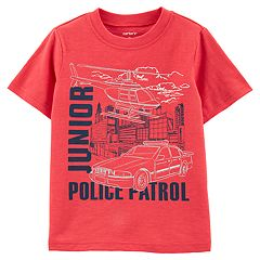Toddler Boy Carter's 'Junior Police Patrol' Graphic Tee