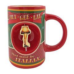 A Christmas Story Leg Lamp 'Fra-Gee-Lay' Ceramic Mug