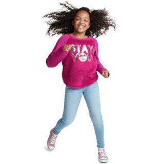 Girls 7-16 & Plus Size SO® Sherpa Pullover Sweatshirt