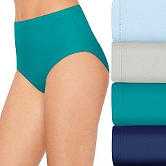 Women's Hanes 4+1 Bonus Pack Ultimate Breathable Comfort Ultra Light Briefs 40ULBB