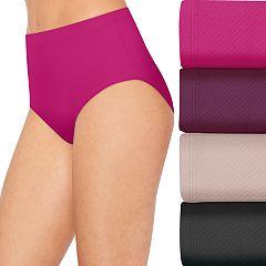 Women's Hanes 4+1 Bonus Pack Ultimate Breathable Comfort Ultra Light Briefs 40ULBB