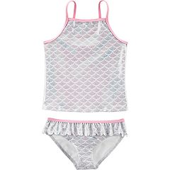 Girls 4-14 Carter's Mermaid Tankini Top & Bottoms Swimsuit Set