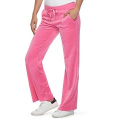 Women's Juicy Couture Bootcut Velour Pants