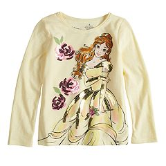 Disney's Beauty & The Beast Belle Girls 4-10 Sequin Long Sleeve Graphic Tee by Disney/Jumping Beans®