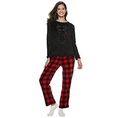330c047e6143 Women s Be Yourself 3-piece Fleece Pajama Set