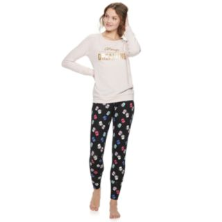 Women's Be Yourself Graphic Pajama Top
