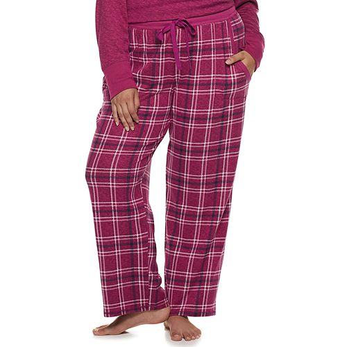 Plus Size Croft & Barrow® Printed Pajama Pants