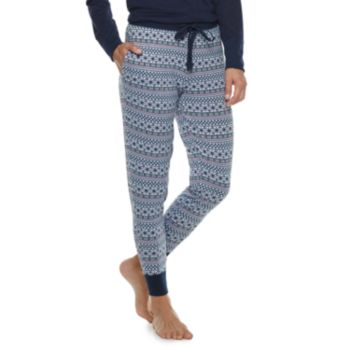 Women's Croft & Barrow® Fairisle Jogger Pajama Pants