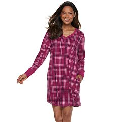 Women's Croft & Barrow® Sleep henley Sleepshirt