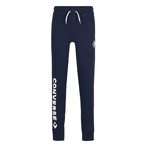 Boys 8-20 Converse Star Chevron Logo Fleece Pants