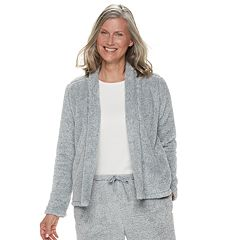 Women's Croft & Barrow® Plush Cardigan