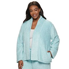 Plus Size Croft & Barrow® Plush Cardigan