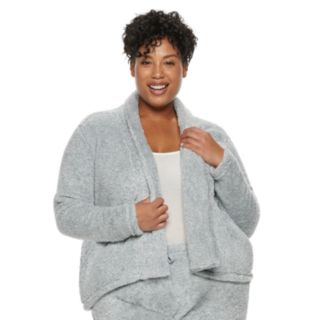Plus Size Croft & Barrow® Plush Cardigan