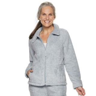 Women's Croft & Barrow® Plush Jacket