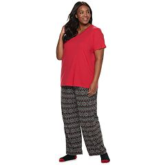 Plus Size Croft & Barrow® 3-piece Pajama Set