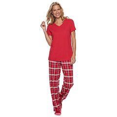 Petite Croft & Barrow® 3-piece Pajama Set