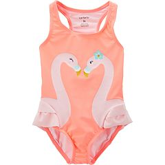 Baby Girl Carter's Flamingo One-Piece Swimsuit
