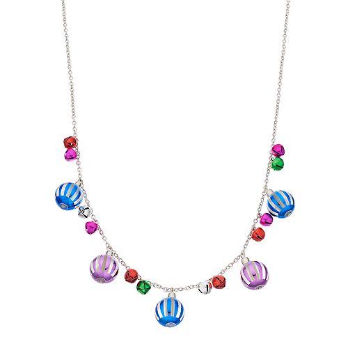 Multi Colored Ornament Bead Necklace