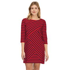 Women's IZOD Boatneck Shift Dress