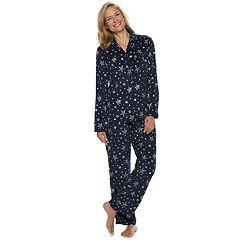 10ab419a27 Women s Croft   Barrow® Velour Shirt   Pants Pajama Set