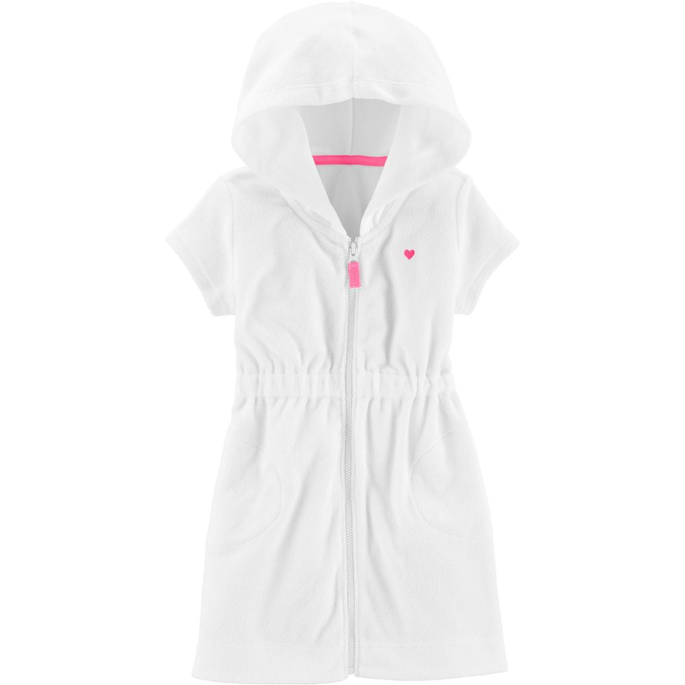 Baby Girl Carter's Hooded Terry Cover-Up