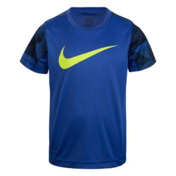 Boys 4-7 Nike Dri-FIT Abstract Logo Tee