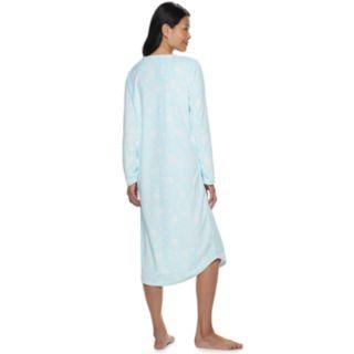 Women's Croft & Barrow® Pintuck Velour Nightgown