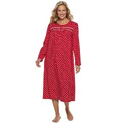 Women's Croft & Barrow® Flannel Nightgown