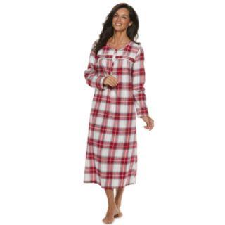 Women's Croft & Barrow® Flannel Nightgown