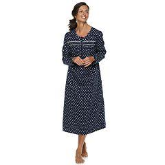 Petite Croft & Barrow® Flannel Nightgown